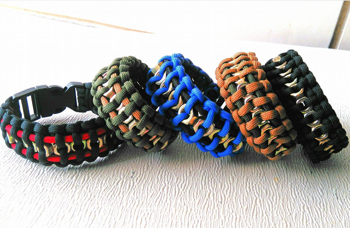 hex nut paracord bracelet hex nut self defense paracord bracelets are awesome safety