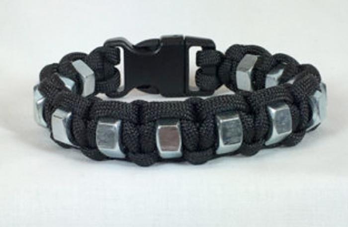 Hex Nut Self Defense Paracord Bracelet
