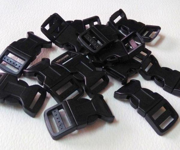 Side Release Plastic Buckles for making paracord bracelet